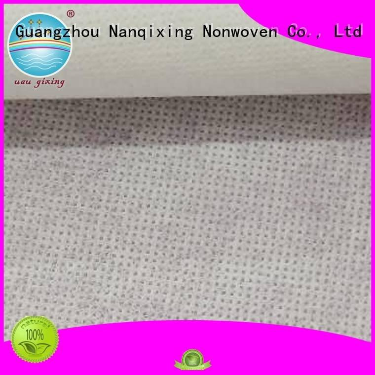 Nanqixing Brand direct pp sale Non Woven Material Suppliers calendered