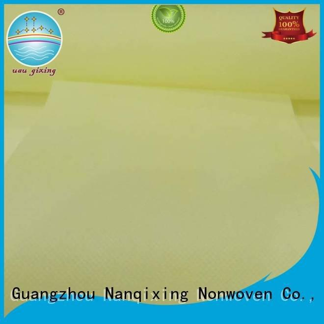 Nanqixing ecofriendly Non Woven Material Suppliers non usages
