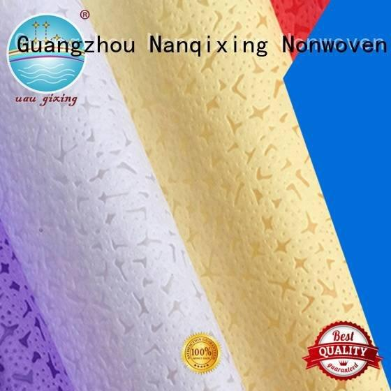hygiene tensile Non Woven Material Suppliers polypropylene Nanqixing