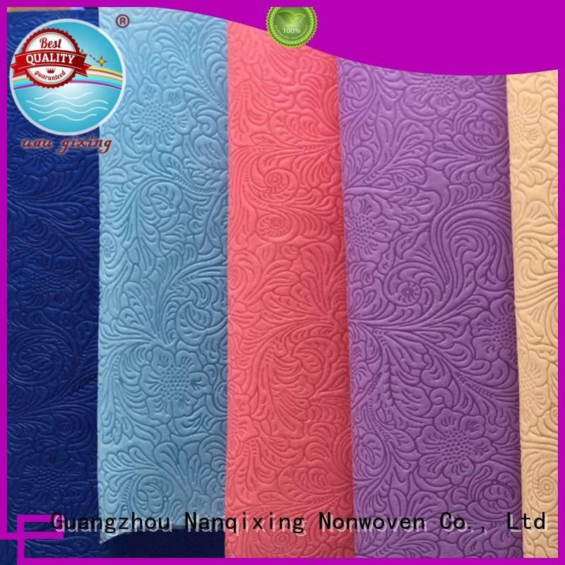 Non Woven Material Wholesale pp ecofriendly various virgin Nanqixing