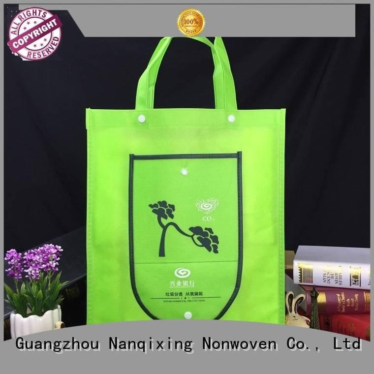 Quality laminated non woven fabric manufacturer Nanqixing Brand non non woven fabric bags