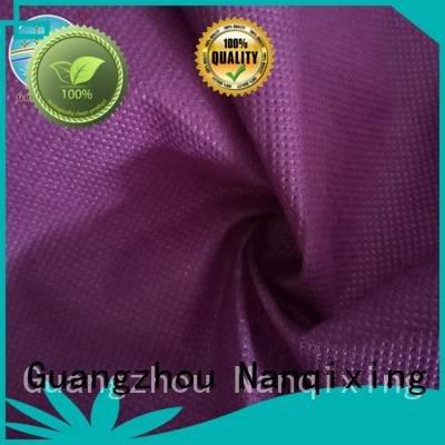 Nanqixing factory for fabric Non Woven Material Wholesale virgin