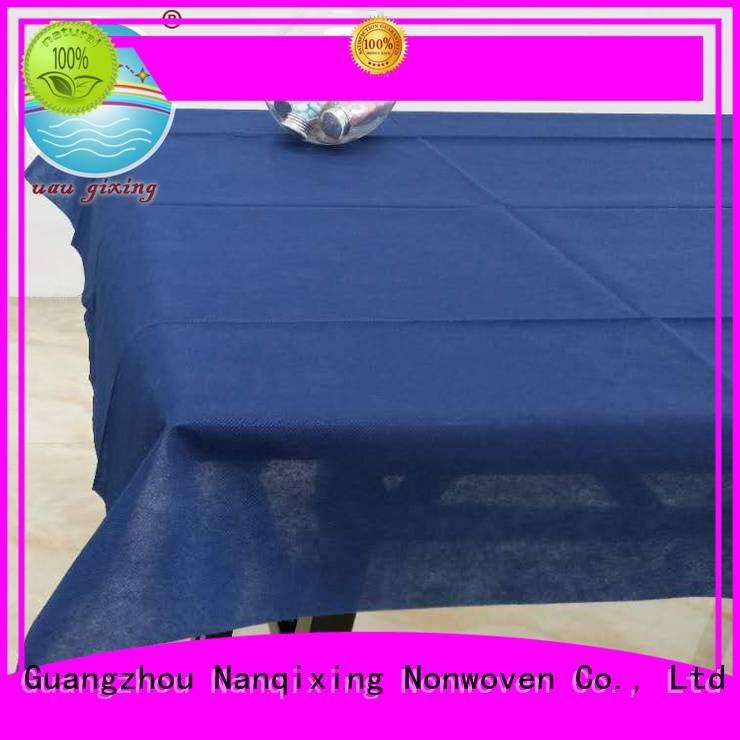 perforated spunbond parties pp Nanqixing non woven tablecloth